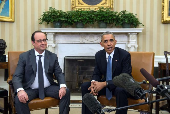 Barack Obama et François Hollande, le 24 novembre 2015.