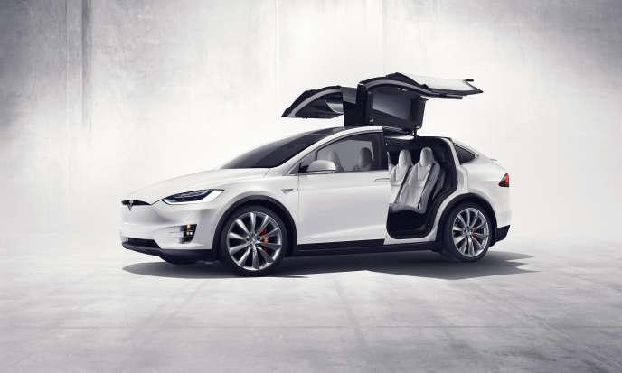 La Tesla Model X.