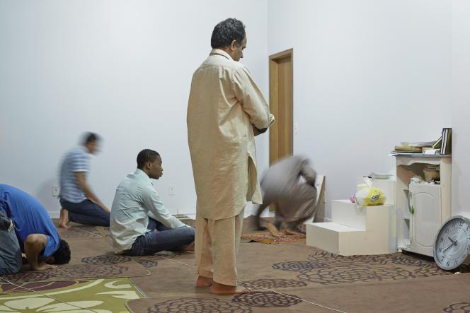Prière dans la mosquée de Marechal Cândido Rondon, dans l'Etat du Parana.