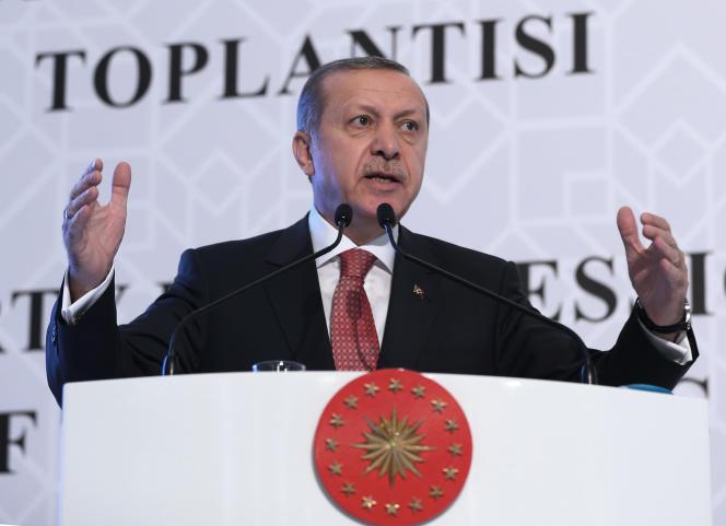 Le président turc, Recep Tayyip Erdogan, mercredi 25 novembre, à Ankara.