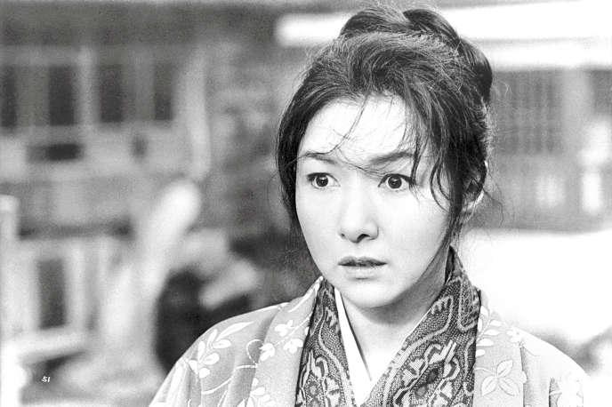 Hideko Takamine dans le film japonais de Mikio Naruse,