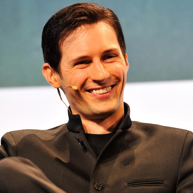 Pavel Durov, à San Francisco, le 21 septembre 2015.