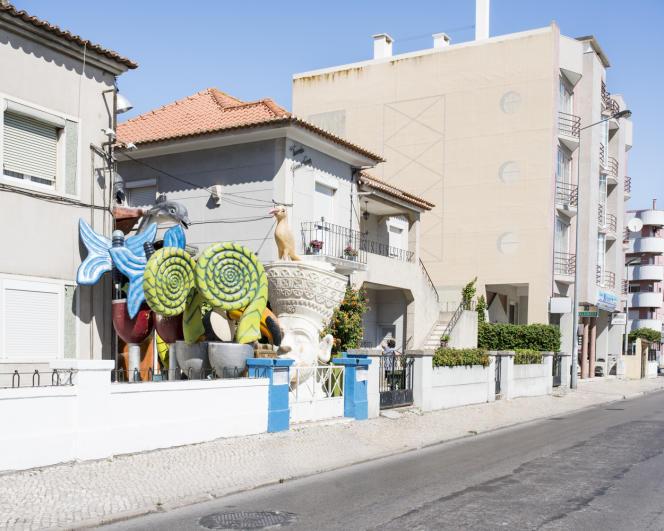 Costa Caparica, la ville.