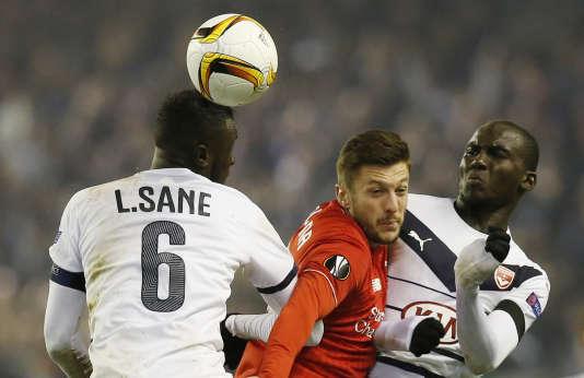Les Girondins se sont inclinés à Liverpool, jeudi 26 novembre.