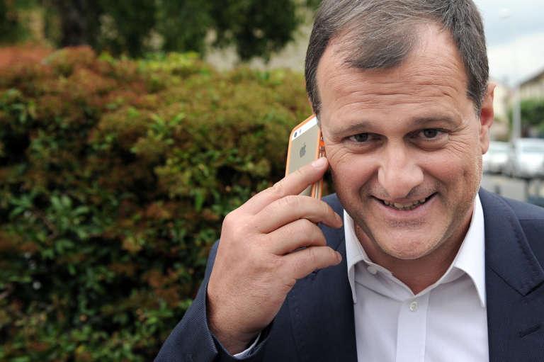 Le vice-président du Front national, Louis Aliot, en mai 2014 à Nanterre.