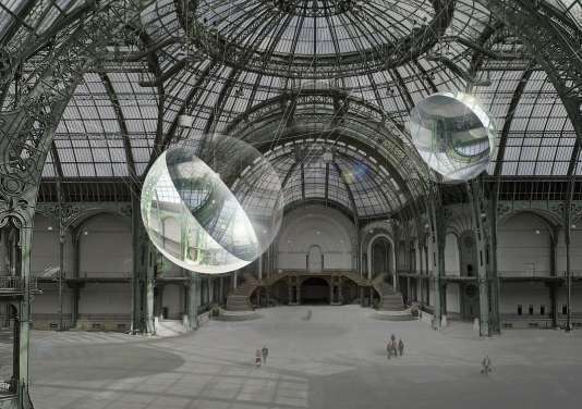 """Aerocene"" au Grand Palais."
