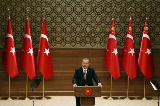 Recep Tayyip Erdogan, le 26 novembre.