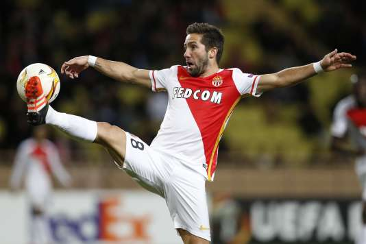 Le milieu de terrain portugais de l'AS Monaco, Joao Moutinho, est du déplacement à Troyes, samedi 19 décembre, pour la 19e journée de Ligue 1.