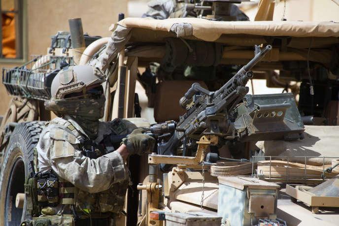Un membre des forces spéciales françaises au Mali, en avril 2015.
