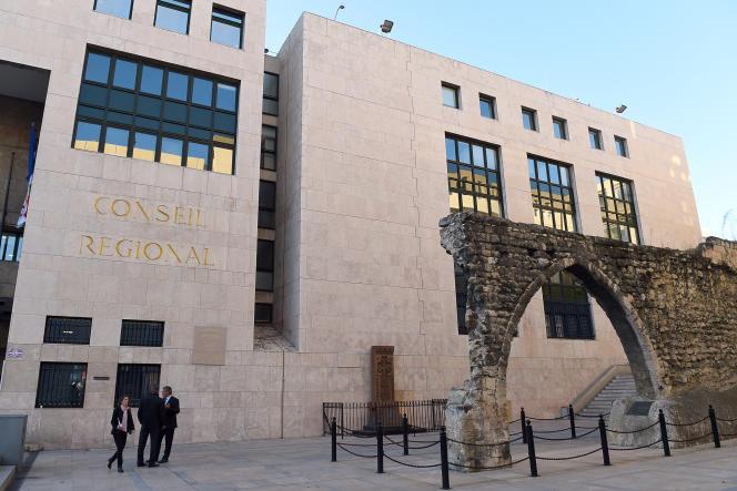 Le conseil régional de la région PACA, à Marseille.