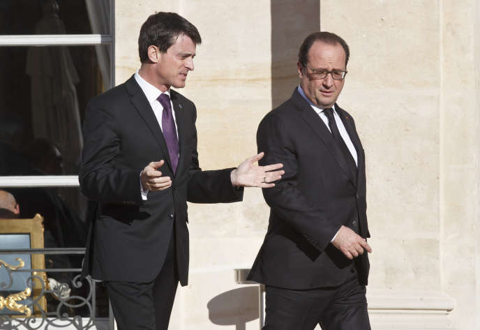 Manuel Valls et François Hollande, le 26 novembre