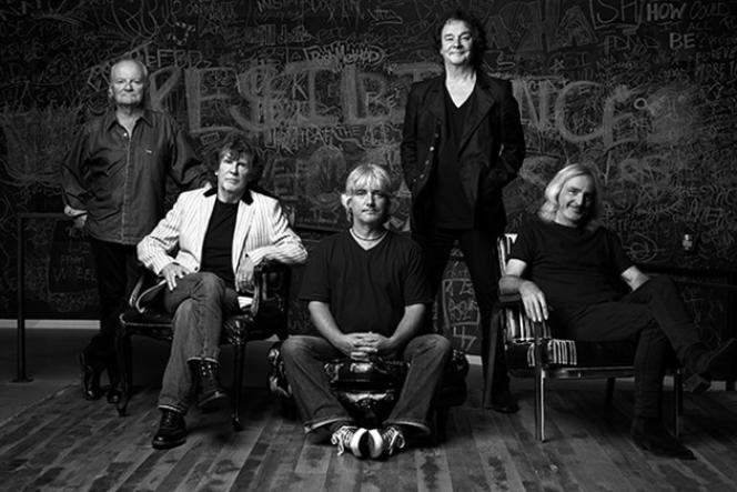 Le groupe britannique The Zombies en 2015.