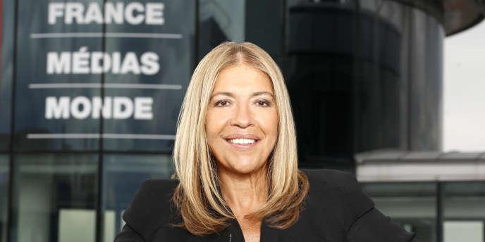 Marie-Christine Saragosse, PDG de France Médias Monde.