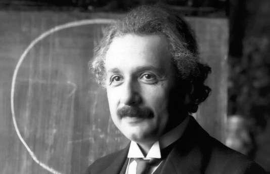 Albert Einstein en 1921.