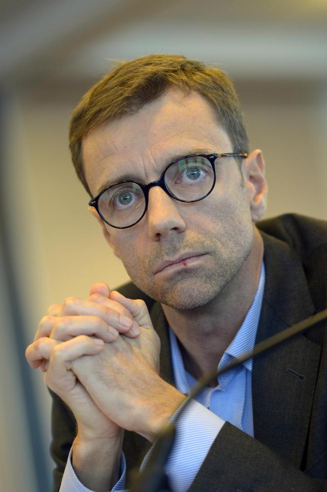 Le directeur général de BFMTV Guillaume Dubois le 20 Octobre 2015.