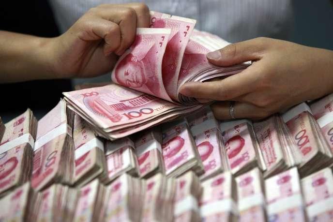 Le yuean représente 2,5 % des transactions internationales, contre 3 % pour le yen, 29 % pour l'euro et 43 % pour le dollar