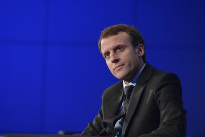 Emmanuel Macron, le ministre de l'économie, le 27 novembre à Paris.