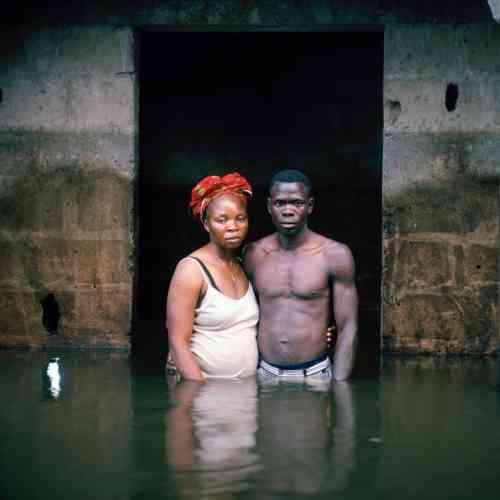 Victor et Hope America Igbogene, Etat de Bayelsa, Nigeria, novembre 2012.
