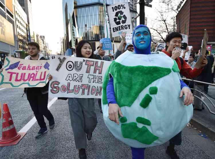 A Tokyo, au Japon, le 28 novembre.