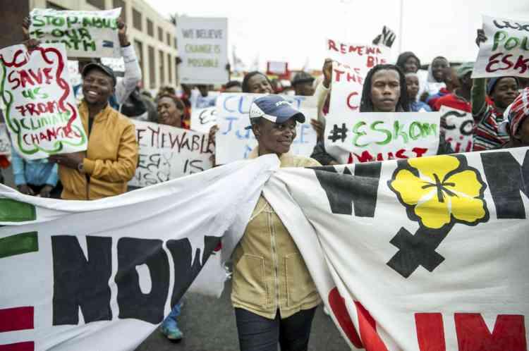 Quelque 700 personnes se sont réunies dans la capitale de l'Afrique du Sud.