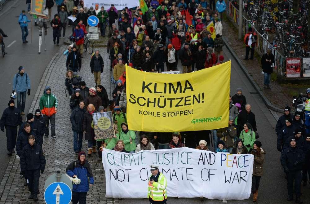 A Fribourg, en Allemagne, le 28 novembre.