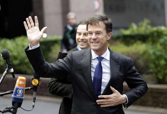 Le premier ministre néerlandais, Mark Rutte, le 29 novembre à Bruxelles.