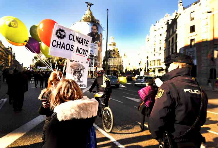 A Madrid, le 29 novembre.