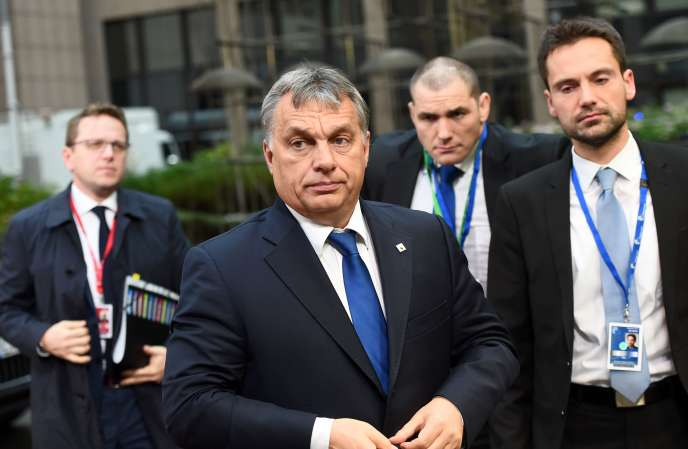 Le premier ministre hongrois, Viktor Orban, à Bruxelles le 29 novembre.