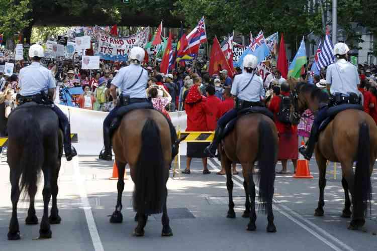 Dans la ville australienne de Sydney, une marche a eu lieu dimanche 29 novembre.