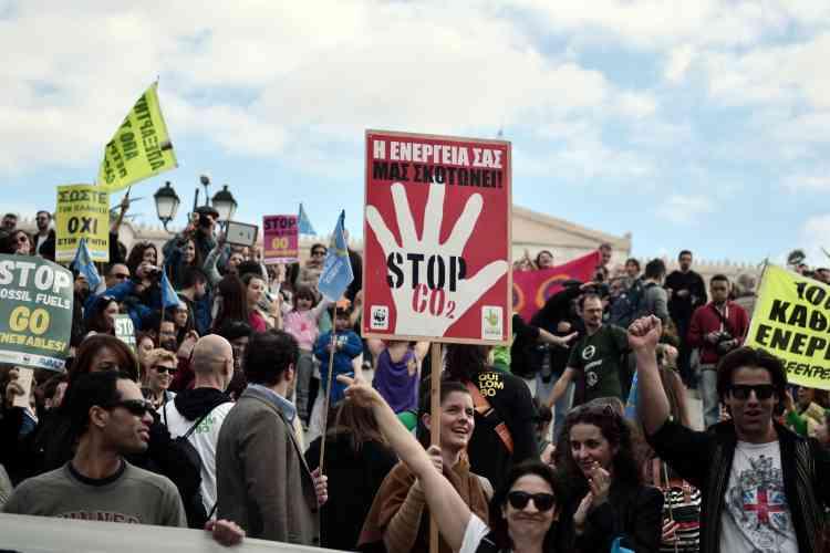 A Athènes, en Grèce, le 29 novembre.