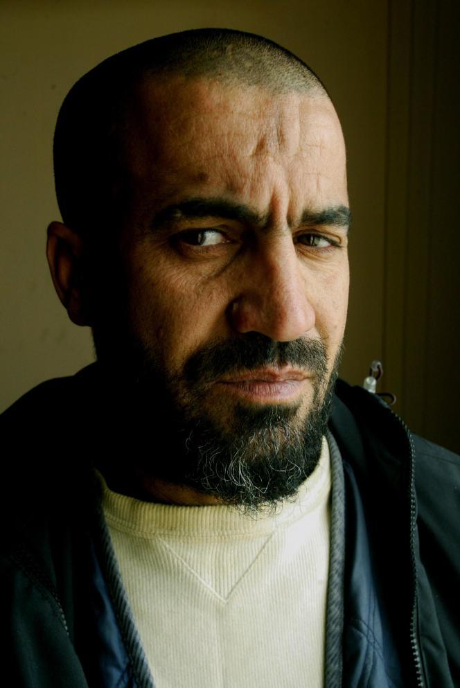 Madjid, ancien garde communal pendant la guerre civile des années 1990.