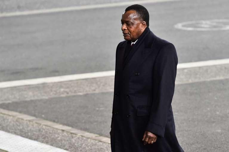 Denis Sassou-Nguesso, à Paris, le 30novembre.