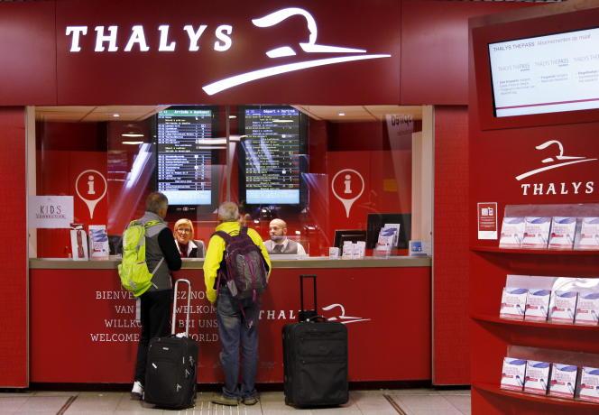 La compagnie ferroviaire Thalys ferme ses ventes sur toutes ses lignes.