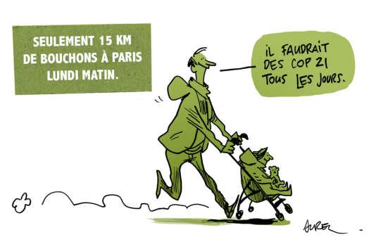 Un dessin du dessinateur Aurel.