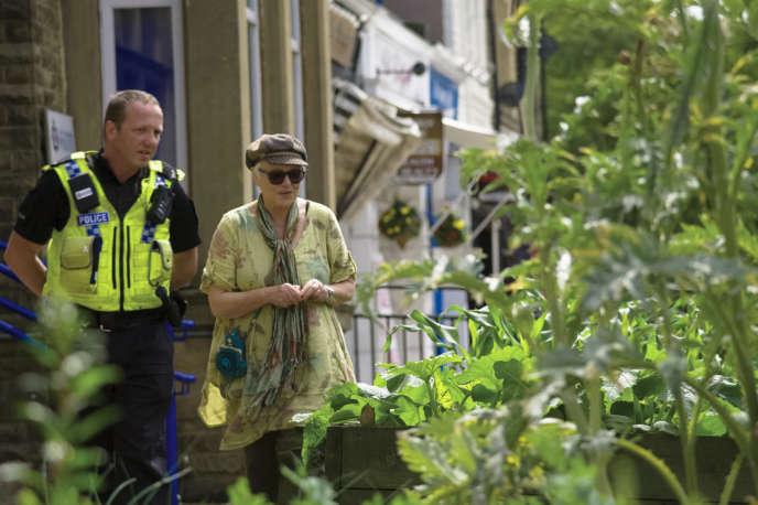 Potager urbain britannique dans