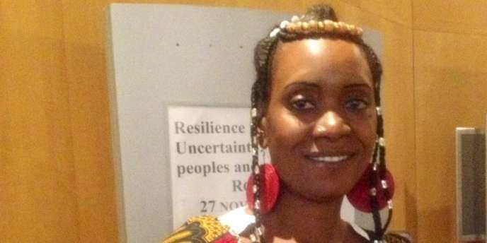 Aissatou Oumarou de l'Association des femmes peules autochtones du Tchad.