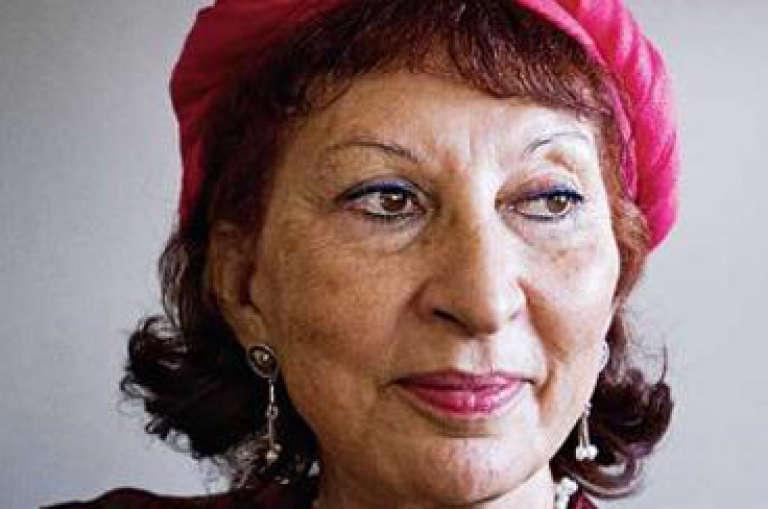 La sociologue et écrivaine marocaine Fatima Mernissi.