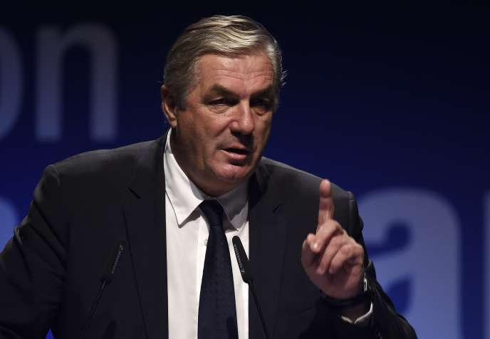 François Sauvadet, en décembre 2015.