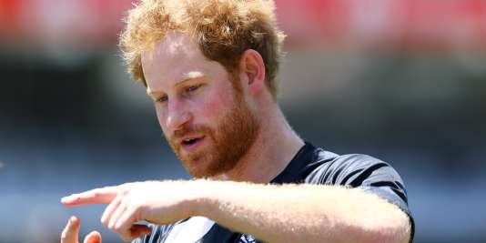 Le Prince Harry, le 1er décembre en Afrique du Sud.
