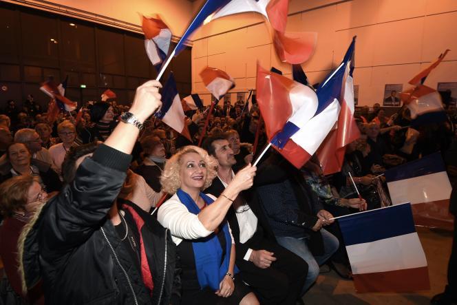 L'extrême droite voit les intentions de vote en sa faveur monter dans l'ensemble des régions.