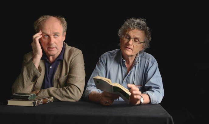 Les réalisateurs Jérôme Prieur et Gérard Mordillat.
