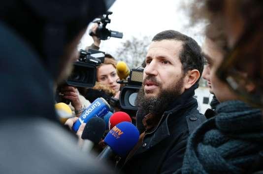 Mohammed Ramdane, président de l'association de la mosquée de Lagny-sur Marne, le 2 décembre 2015.