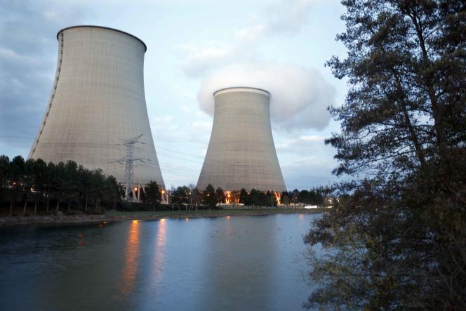 La centrale nucléaires de Nogent-sur-Seine, dans l'Aube.