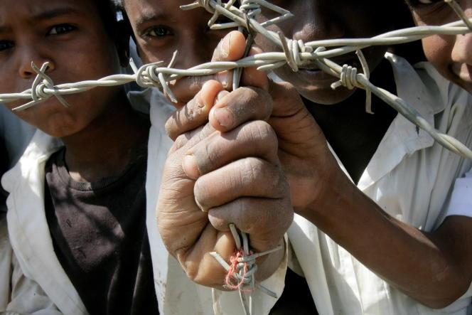 Des enfants érythréens, dans le camp de réfugiés de Kassala, au Soudan.