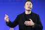 Elon Musk en 2014, patron milliardaire de SpaceX, Tesla et de SolarCity, lors d'une conférence à la Sorbonne durant la COP21, à Paris, le 2 décembre 2015.