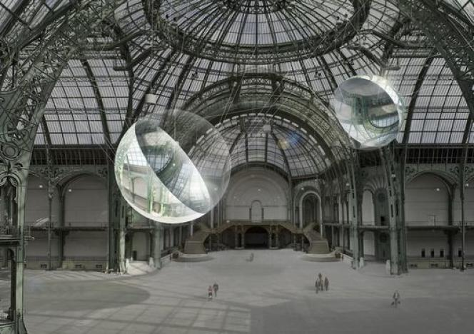 «Aerocene», au Grand Palais.
