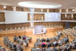 L'hémicycle du conseil régional Auvergne-Rhône-Alpes.