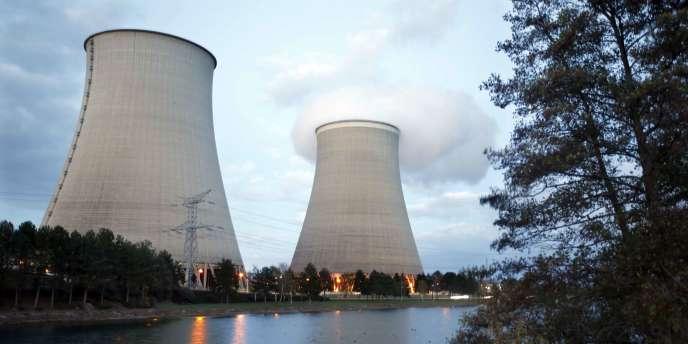La centrale nucléaire de Nogent-Sur-Seine le 13 novembre 2015.