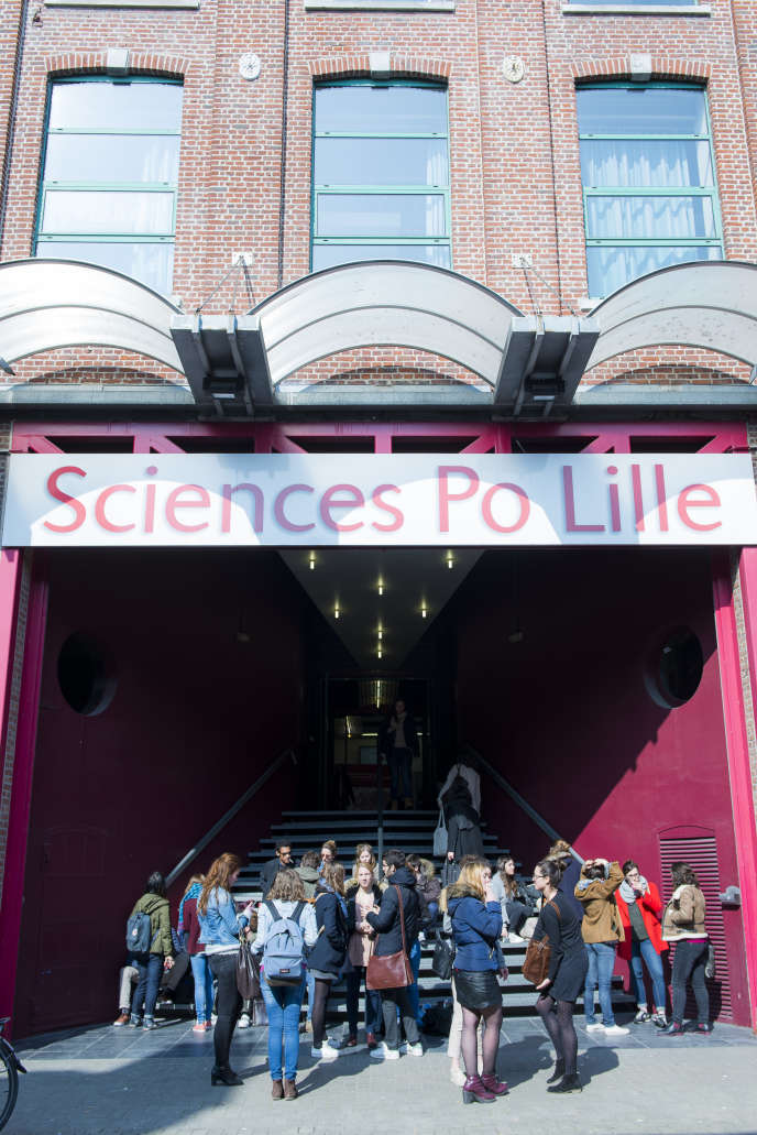 Sciences Po Lille, en mars 2015.