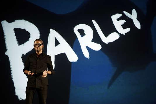 Cyrill Gutsch, le fondateur de l'ONG Parley for the Oceans.